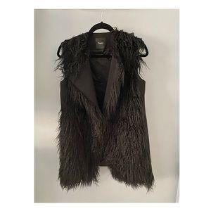 Theory Faux Fur Vest